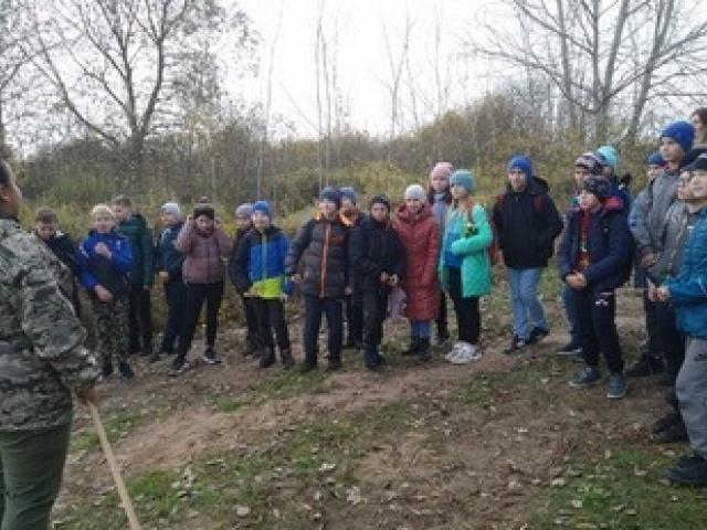 Учащиеся Пинковичской школы посетили ЭКОТРОПУ